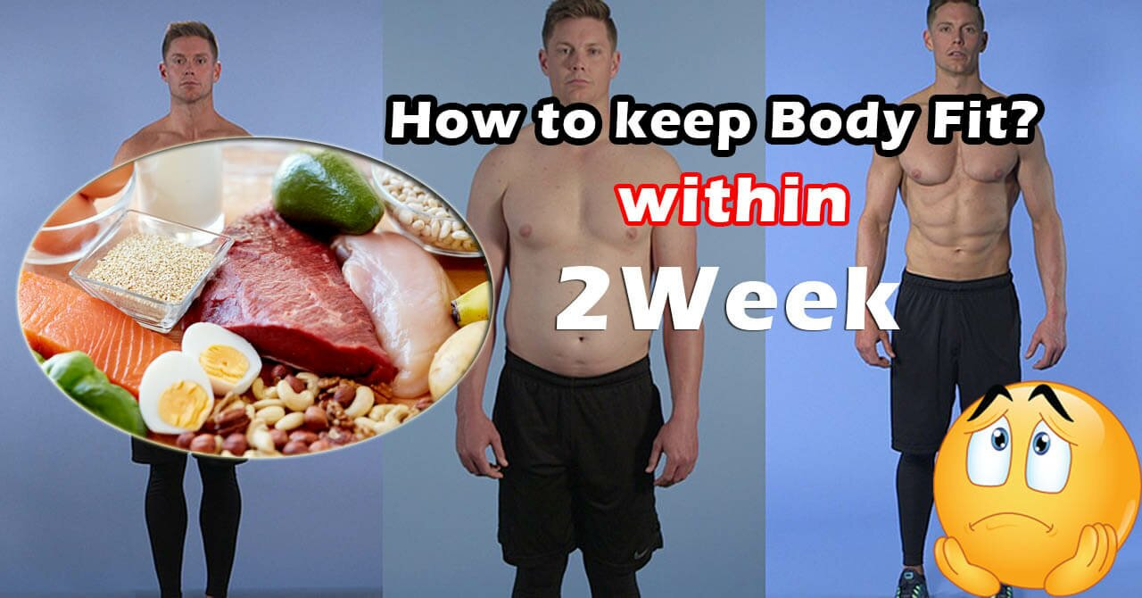 how to keep body fit