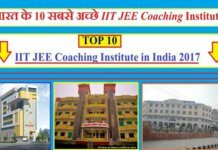 top 10 iit coching in india 2018