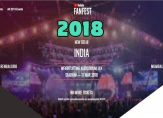 youtube fanfests 2018 delhi mumbai